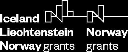 EEA grants white logo