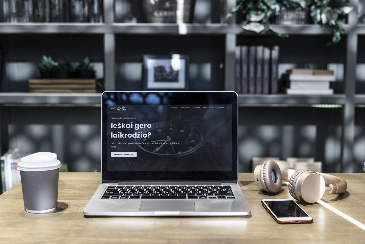 Landing page for organisation performance