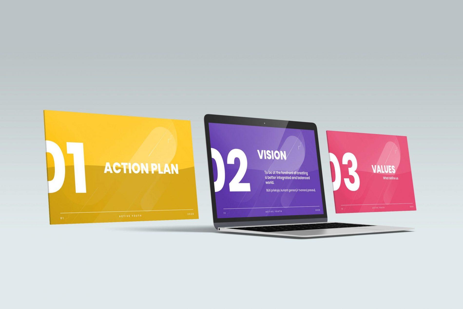 slide graphic design
